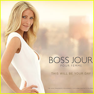 Gwyneth Paltrow: Boss Jour Fragrance Campaign Pics!