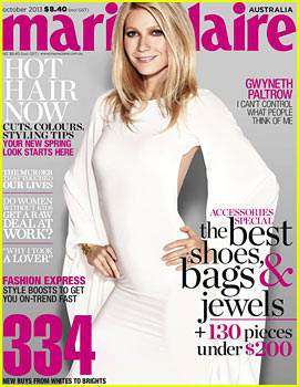Gwyneth Paltrow Talks Possible Third Child to 'Marie Claire Australia'