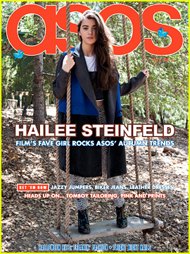 Hailee Steinfeld Covers 'Asos' Magazine November 2013