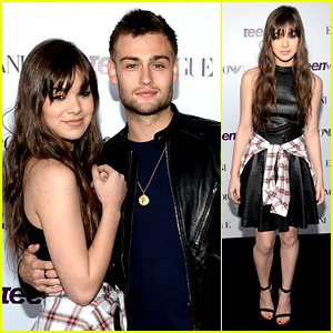 Hailee Steinfeld & Douglas Booth: Teen Vogue Young Hollywood Party 2013!