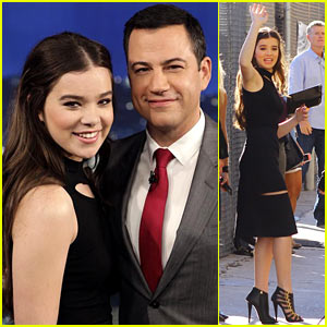 Hailee Steinfeld Talks Awkward Justin Timberlake Meeting!