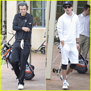 Harry Styles & Niall Horan: Barossa Valley Golf Club Duo!
