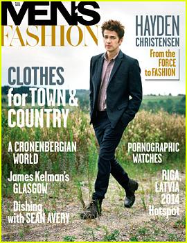 Hayden Christensen Covers 'Men's Fashion' Fall 2013 Issue