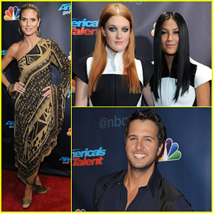Heidi Klum: 'America's Got Talent' Season Finale Show!