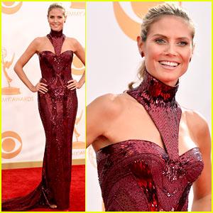 Heidi Klum - Emmys 2013 Red Carpet