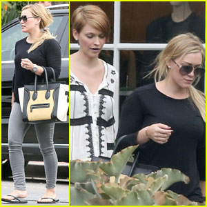 Hilary Duff: Girls Day Out with Lisa Stelly!