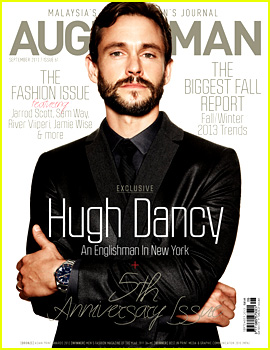 Hugh Dancy Covers 'August Man Malaysia' September 2013
