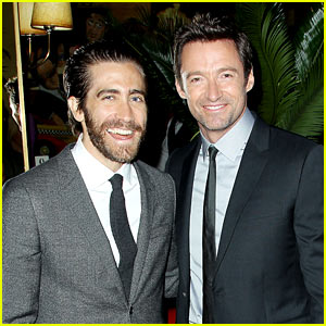 Jake Gyllenhaal & Hugh Jackman: 'Prisoners' Luncheon in NYC!