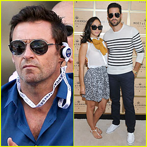 Hugh Jackman & Jesse Metcalfe: U.S. Open Women's Final!