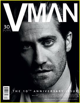 Jake Gyllenhaal Covers 'V Man' Fall/Winter 2013