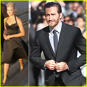 Jake Gyllenhaal & Dianna Agron: 'Jimmy Kimmel' Guests!