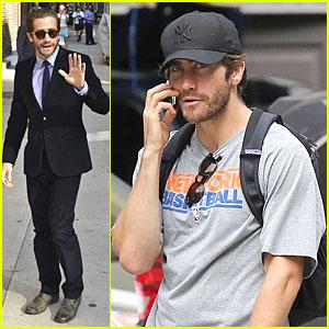 Jake Gyllenhaal Promotes 'Prisoners' on 'Letterman'!