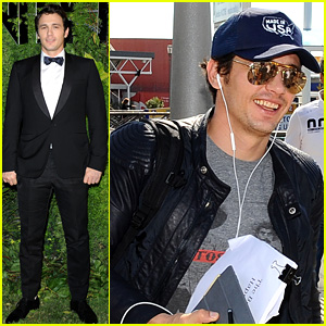 James Franco Leaves Venice After 'Vanity Fair' Party