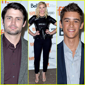 James Lafferty & Brenton Thwaites: 'Oculus' TIFF Premiere!