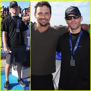 James Marsden & Jeremy Sisto: Nautica Malibu Triathlon 2013!