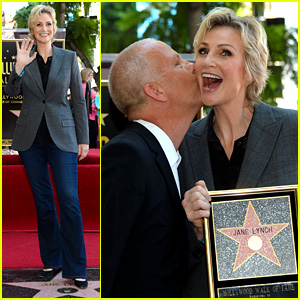 Jane Lynch Recieves Star on Hollywood Walk of Fame!