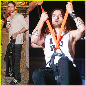 Jared Leto: Rock in Rio Performance with Thirty Seconds to Mars!