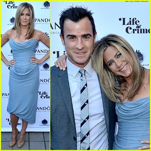 Jennifer Aniston: 'Life of Crime' Cocktails with Justin Theroux!
