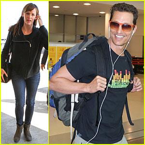 Jennifer Garner & Matthew McConaughey Fly Out For TIFF!