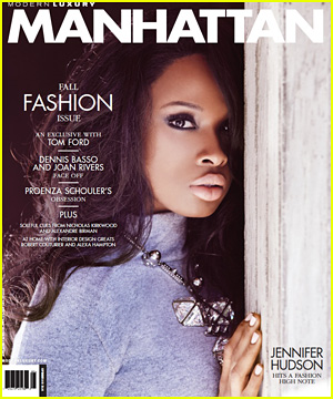 Jennifer Hudson Covers 'Manhattan' September 2013