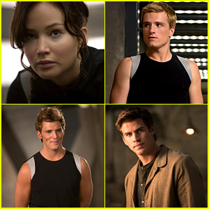 Jennifer Lawrence & Liam Hemsworth: New 'Catching Fire' Pics!