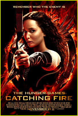 Jennifer Lawrence: New 'Hunger Games: Catching Fire' Poster!