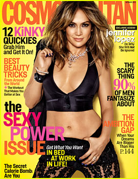 Jennifer Lopez Covers 'Cosmopolitan' October 2013