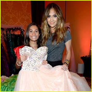 Jennifer Lopez Styles 'My Fabulous Quince' Contest Winner!