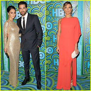 Jesse Metcalfe & Cara Santana - HBO's Emmys After Party 2013