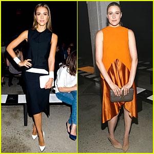 Jessica Alba & Greta Gerwig: Narciso Rodriguez Fashion Show!