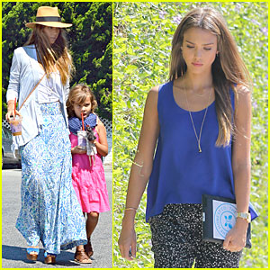Jessica Alba: Labor Day Grocery Shopping with Honor!