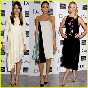 Jessica Biel & Ashley Madekwe: Dior Pret-A-Porter Dinner!