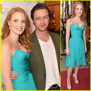 Jessica Chastain & James McAvoy: 'Disappearance of Eleanor Rigby' TIFF Premiere!