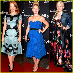 Jessica Chastain & Jennifer Morrison: HFPA/InStyle TIFF Party!