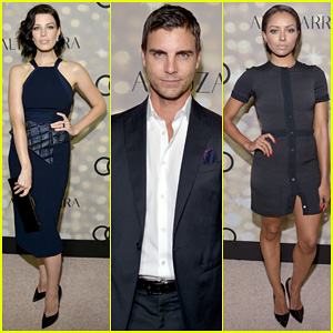 Jessica Pare & Colin Egglesfield: Emmys Week Kick-Off Party!