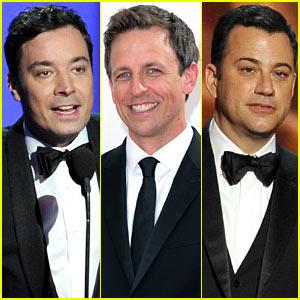 Jimmy Fallon & Seth Meyers: Emmys 2013 with Jimmy Kimmel!