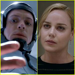 Joel Kinnaman & Abbie Cornish: 'Robocop' Trailer Premiere!