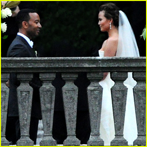 John Legend & Chrissy Teigen: Wedding Photos!