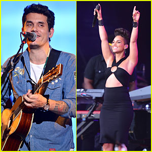 John Mayer & Alicia Keys: Global Citizen Festival Performers!
