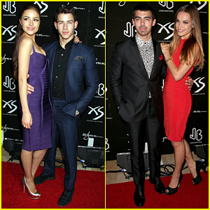 Jonas Brothers Celebrate Nick's 21st Birthday at XS!