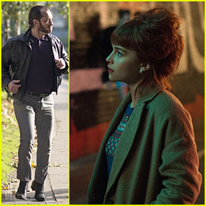 Jude Law & Emilia Clarke: 'Dom Hemingway' Trailer & Stills!