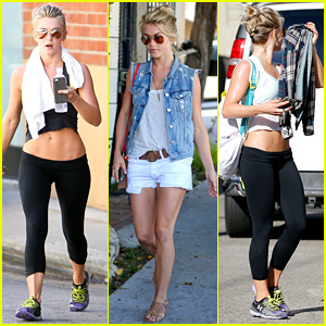 Julianne Hough Motivates Fans: 'Step Outside of the Box Today!'