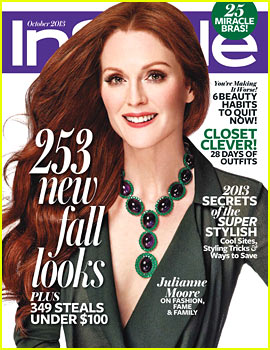 Julianne Moore Covers 'InStyle' October 2013