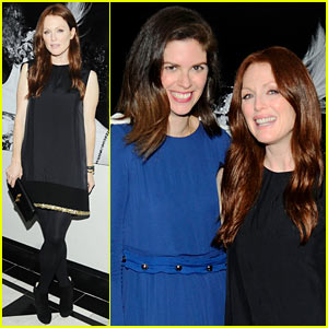 Julianne Moore: Leslie Fremar's Fashion Week Dinner!