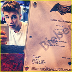 Justin Bieber: Robin in 'Batman vs. Superman'?