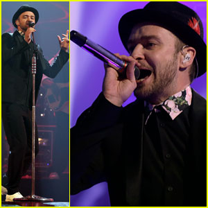 Justin Timberlake Debuts Two New Songs at iHeartRadio - Watch Now!