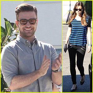 Justin Timberlake Greets Brazil, Jessica Biel Stays in L.A.