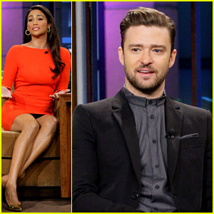 Justin Timberlake & Paula Patton: 'Tonight Show' Guests!