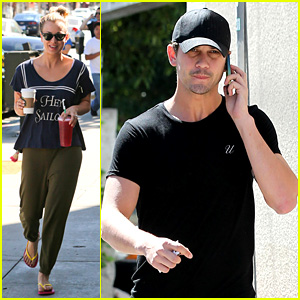 Kaley Cuoco & Ryan Sweeting Step Out After Engagement News!