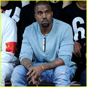 Kanye West: Front Row at 'Hood By Air' Fashion Show